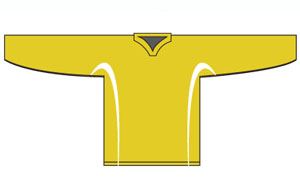 PearSox League Jersey - Gold