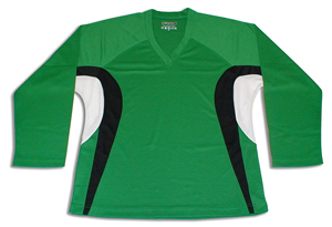 Tron SJ 200 Dry-Fit Jersey - Kelly/Black/White