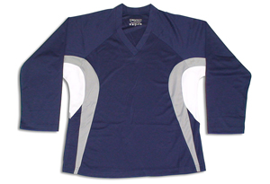 Tron SJ 200 Dry-Fit Jersey - Navy/Silver/White