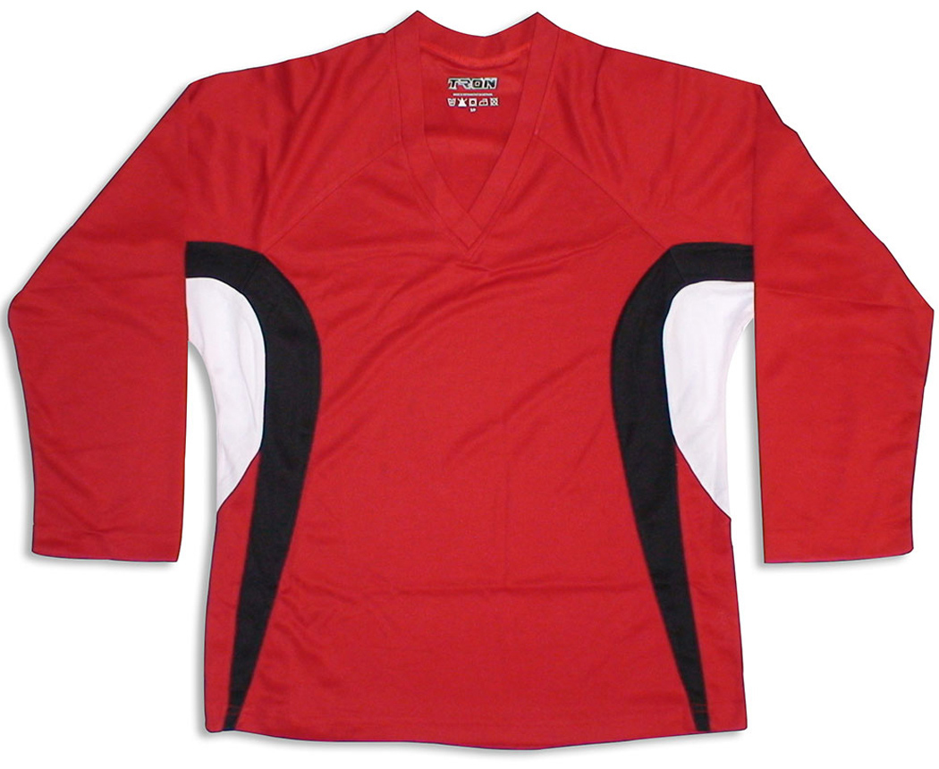 Tron SJ 200 Dry-Fit Jersey - Red/Black/White