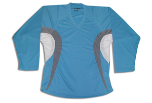 Dry-Fit Jersey - Sky/Silver/White